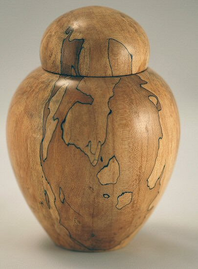 Spalted Maple Ginger Jar