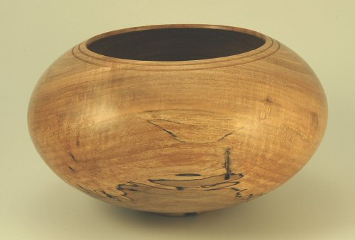 Spalted Maple Hollow Form SOLD