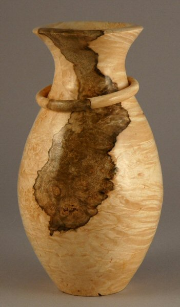 Maple Burl with Captive Ring