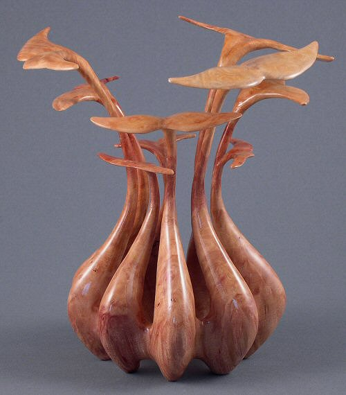Madrone Sculpture - Whale's Tails